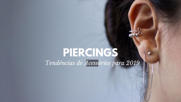 Tendências 2019 –Piercings